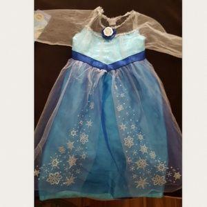 Child's Elsa Costume Dress